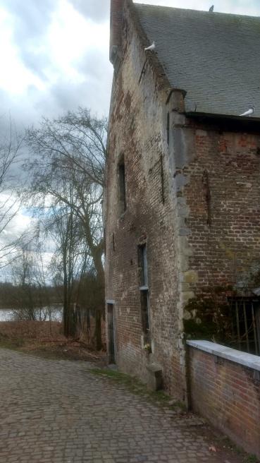 Oude watermolen van Grobbendonk.